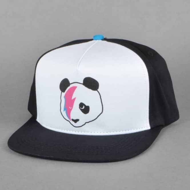Enjoi Skateboards Stardust Panda Snapback cap - Black White Blue ... 2022c09297d