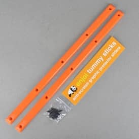 Tummy Sticks Skateboard Rails - Orange