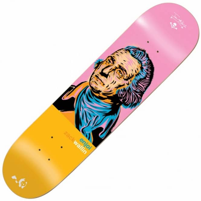 Enjoi Skateboards Wallin Presidents Skateboard Deck 8.0