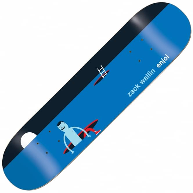 Enjoi Skateboards Zack Wallin Jim Houser Skateboard Deck 8.125