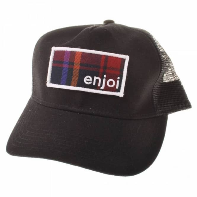 Enjoi Skateboards Enjoi Thinking Mesh Cap Black