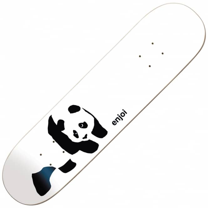 Enjoi Skateboards Enjoi Whitey Panda Wide Deck 8.0
