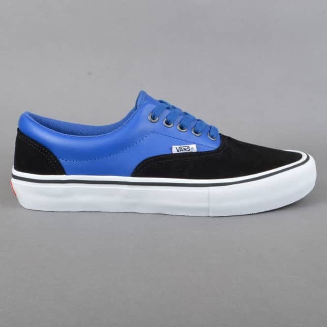 Vans Era Pro (Real Skateboards) Skate Shoe - Black/True Blue