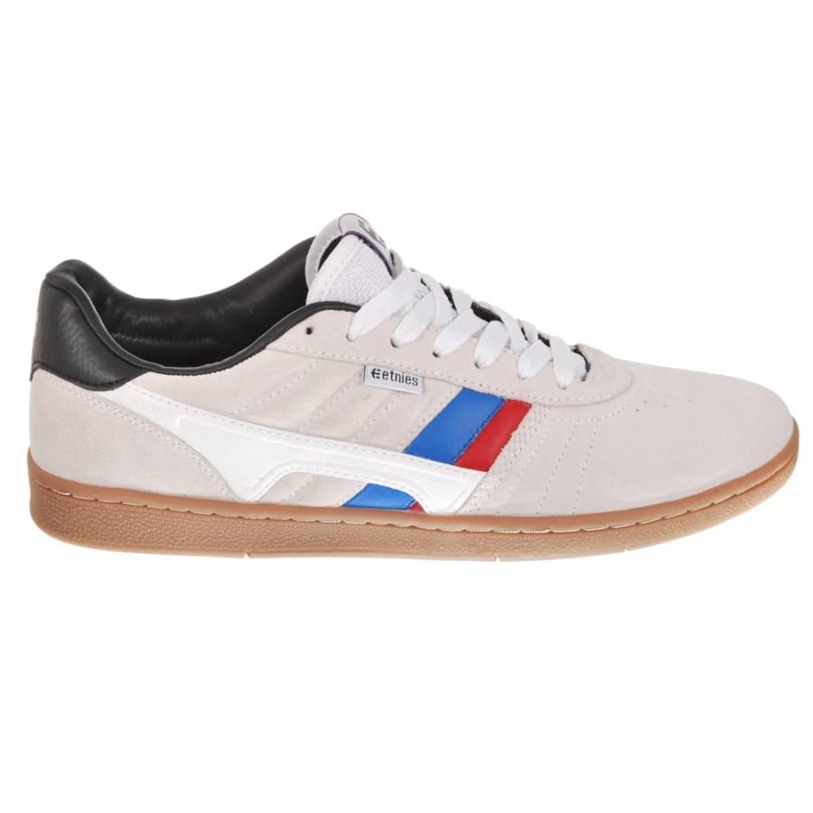 etnies etnies barci white gum skate shoes etnies from
