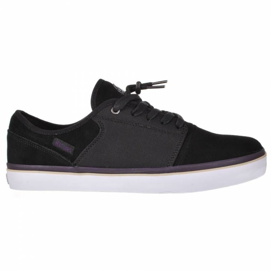 etnies etnies bledsoe low black purple skate shoes