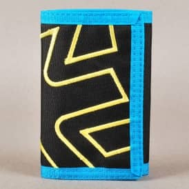 Etnies Icon Outline Wallet - Black/Turquoise