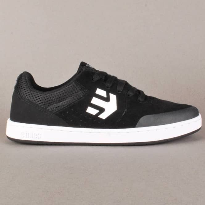 Etnies Etnies Kids Marana Skate Shoes - Black/White