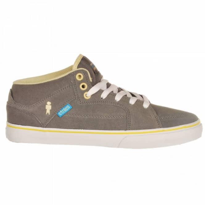 af67554316 Etnies Portland Grey Yellow Alien Workshop - Mens Skate Shoes from ...