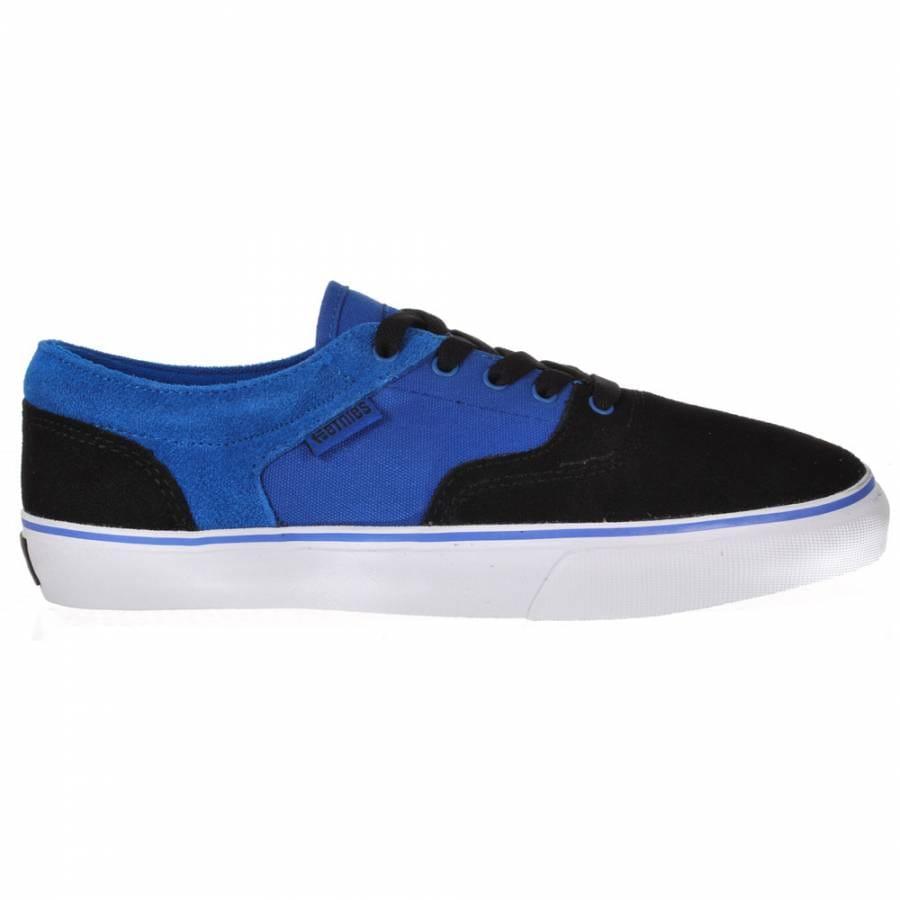 Skate Shoes : Etnies : Etnies Fairfax Black/Blue/White Skate Shoes