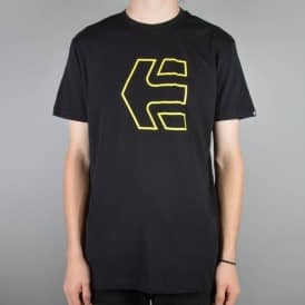 Etnies Icon Outline Skate T-Shirt - Black