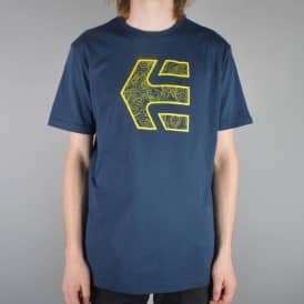 Etnies Icon Topo Skate T-Shirt - Dark Navy
