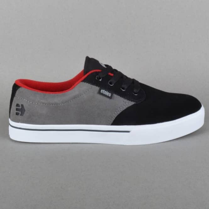 Etnies Jameson 2 Skate Shoes - Black/Grey/Red