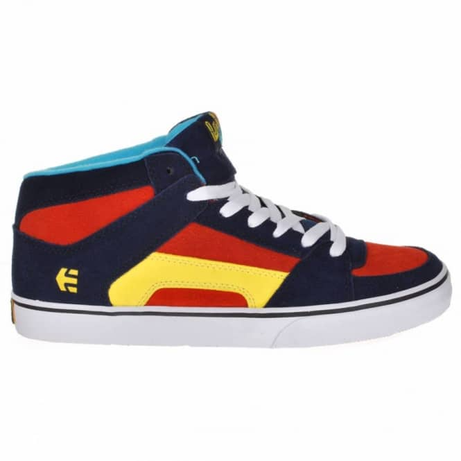 Etnies Etnies Kids Alvar RVM Vulc SMU Blue/White/Orange Skate Shoes