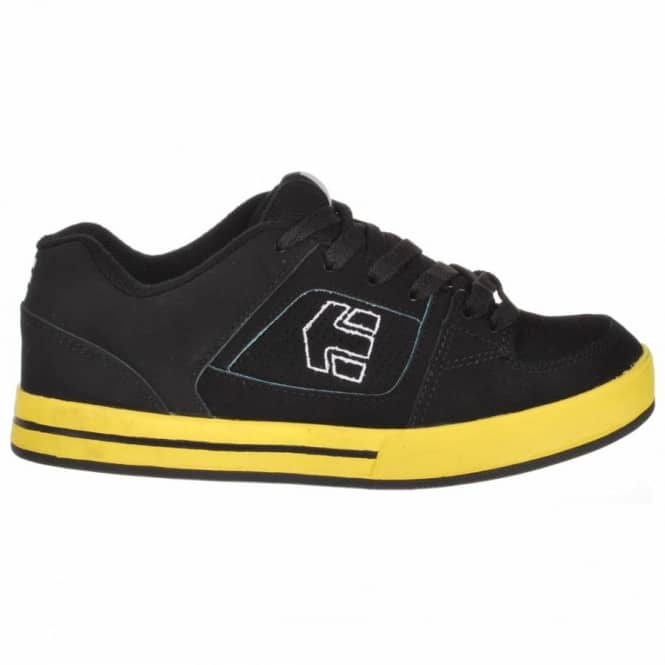 Etnies Etnies Kids Ronin Youth Black/Yelow Skate Shoe