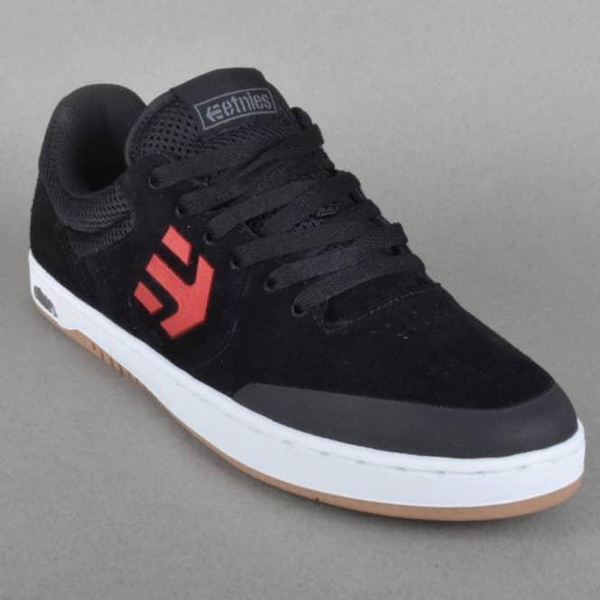 Etnies Marana Skate Shoes - Black/Red