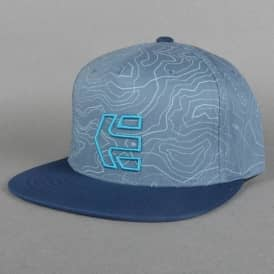 Etnies Rock Snapback Cap - Pacific Blue