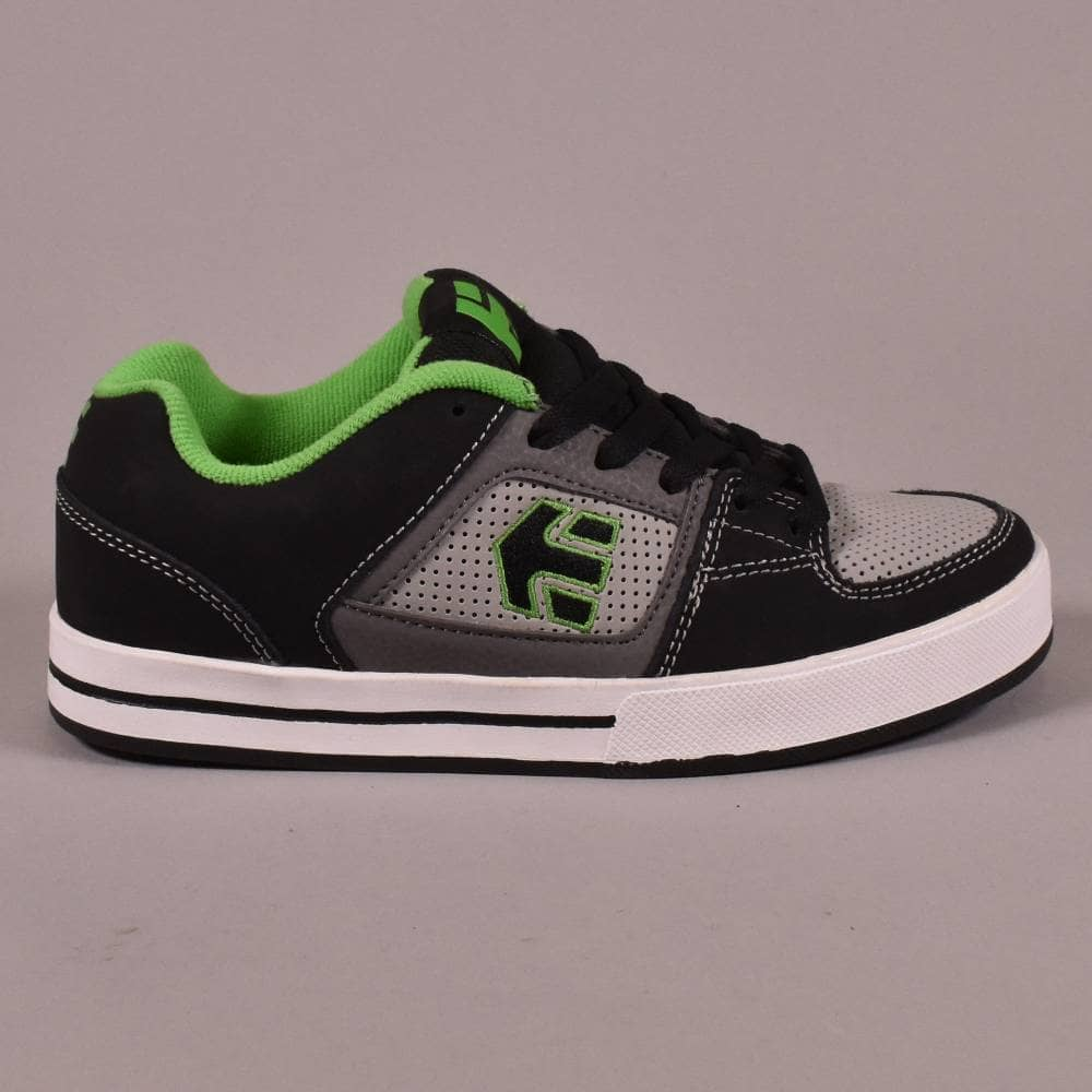 Etnies Ronin Black/Green YOUTH Skate