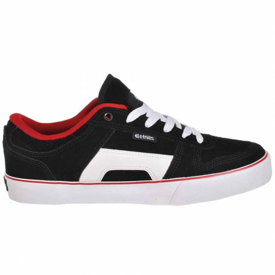 etnies etnies rvs black white skate shoes etnies