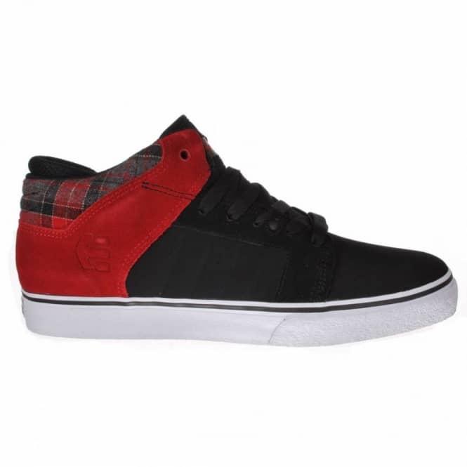 Etnies Sheckler 5 Fusion Black/Red Skate Shoes