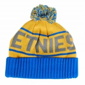 Etnies Steppen Bobble Beanie - Blue/Yellow