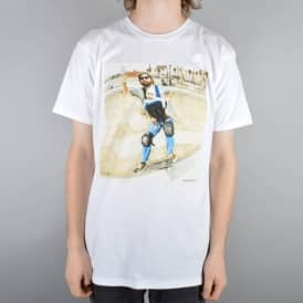 Everybody Skates Baby Skate T-Shirt - White