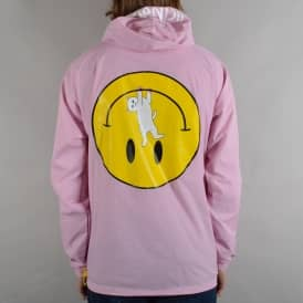 Everything Will Be OK Anorak Jacket - Pink
