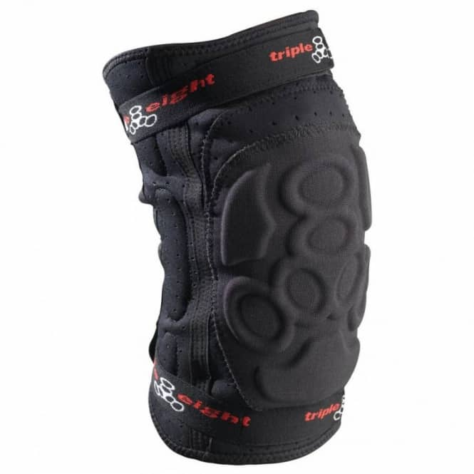 Triple 8 Exoskin Knee Pads - Black