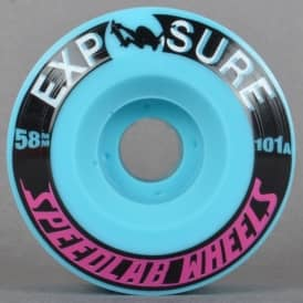 Exposure Blue 101A Skateboard Wheels 58mm