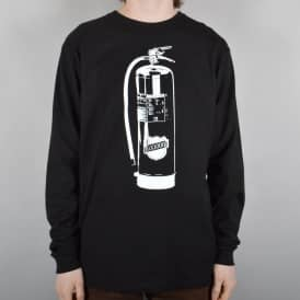 Extinguisher Longsleeve T-Shirt - Black