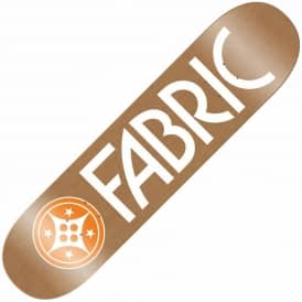 Fabric Canvas Brown Skateboard Deck 8.1''