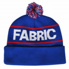 Fabric Skateboards Fabric Douglas Pom Pom Beanie Royal Blue