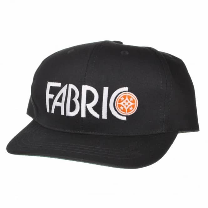 Fabric Skateboards Fabric Odeon Snap Back Cap Black