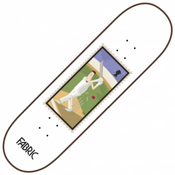 Fabric Skateboards Cricket Stamps Series Skateboard Deck 8.5