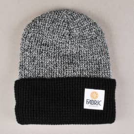 Fabric Marcus Two Tone Beanie - Zebra/Black