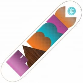 Fabric Marlow White Skateboard Deck 8.1
