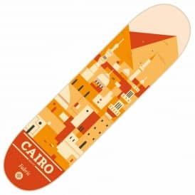 Travel Series Cairo Skateboard Deck 8.0