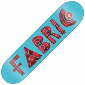 Fabric Tartan Cabaret Blue Skateboard Deck 7.9