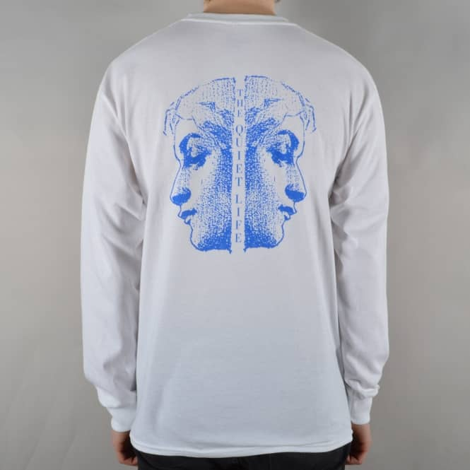The Quiet Life Face Off Longsleeve T-Shirt - White