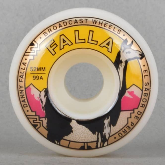 Broadcast Wheels Fallas Choice Skateboard Wheels 52mm