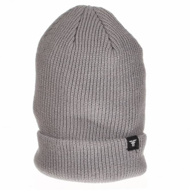 Fallen Fallen Wharf 3 Fold Up Skate Beanie - Heather Grey