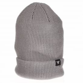 Fallen Wharf 3 Fold Up Skate Beanie - Heather Grey
