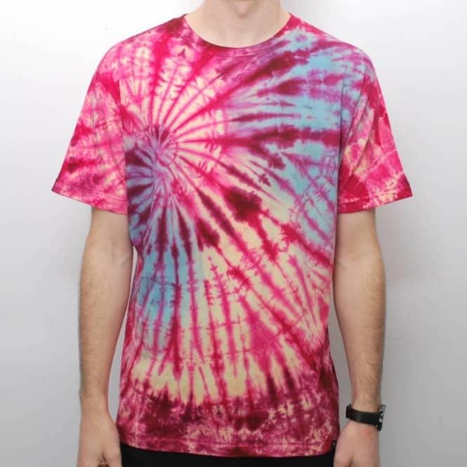 Fallen gerlach custom tie dye t shirt cordovan tie dye for Custom t shirts tie dye