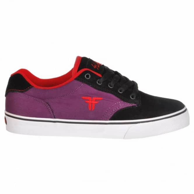 Fallen Fallen Kids Slash Youth Skate Shoes - Black/Black Plum