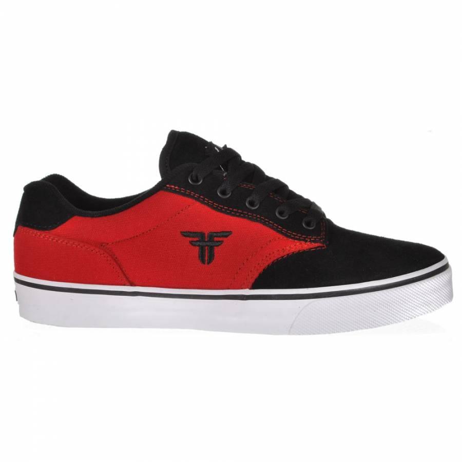 fallen fallen slash black skate shoes fallen from