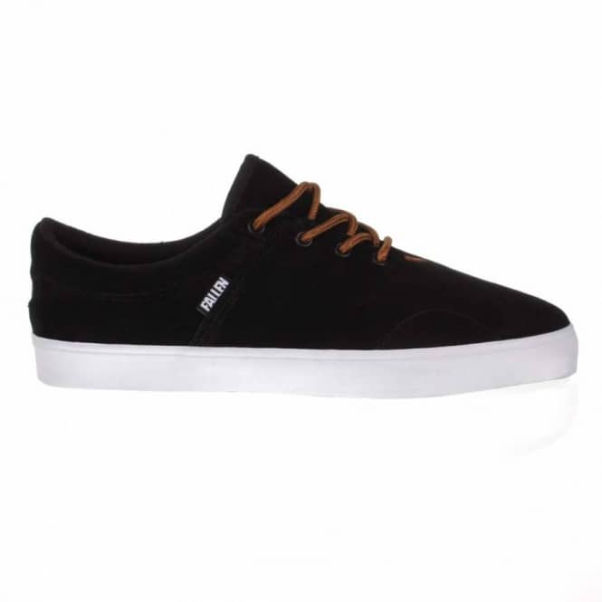 0b6538f762 Fallen York Skate Shoes - Black Brown - Mens Skate Shoes from Native ...