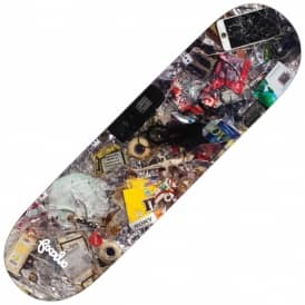Familia Skateboards Team Trash Skateboard Deck 8.2""