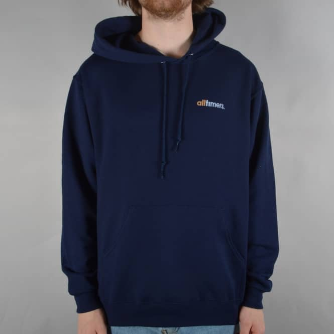 Alltimers Fast Pullover Hoodie - Navy
