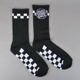 Fast Times Socks - Black/White