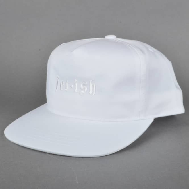 Welcome Skateboards Fetish Unstructured Snapback Cap - White