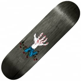 Figgy Hands On (Black Stain) Skateboard Deck 8.3875